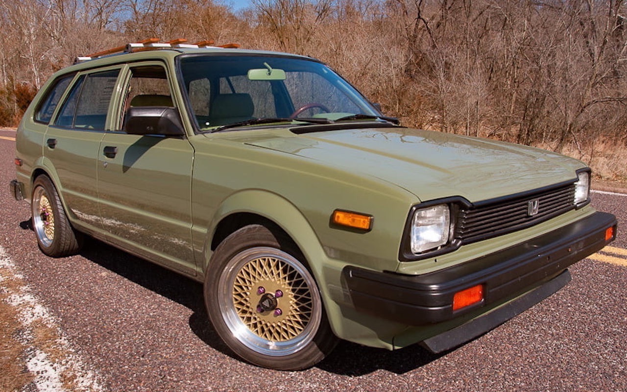 '83 Honda Civic Break - Vous avez dit originale ?! 1