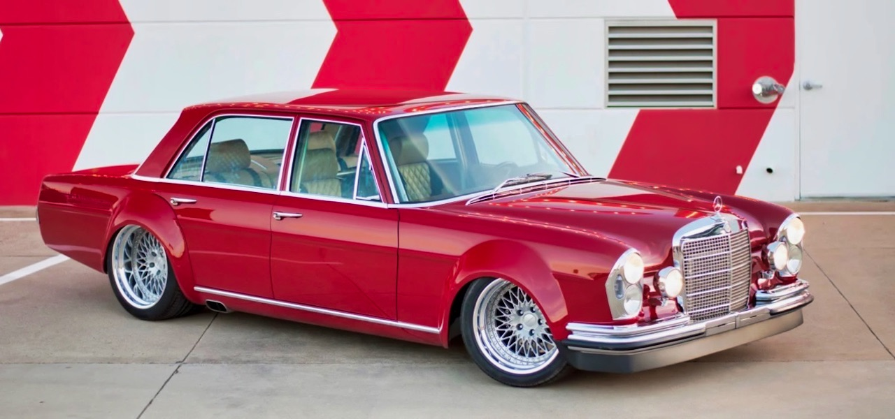 '69 Mercedes 280 SEL W108... Red Pig sauce BBQ ! 9
