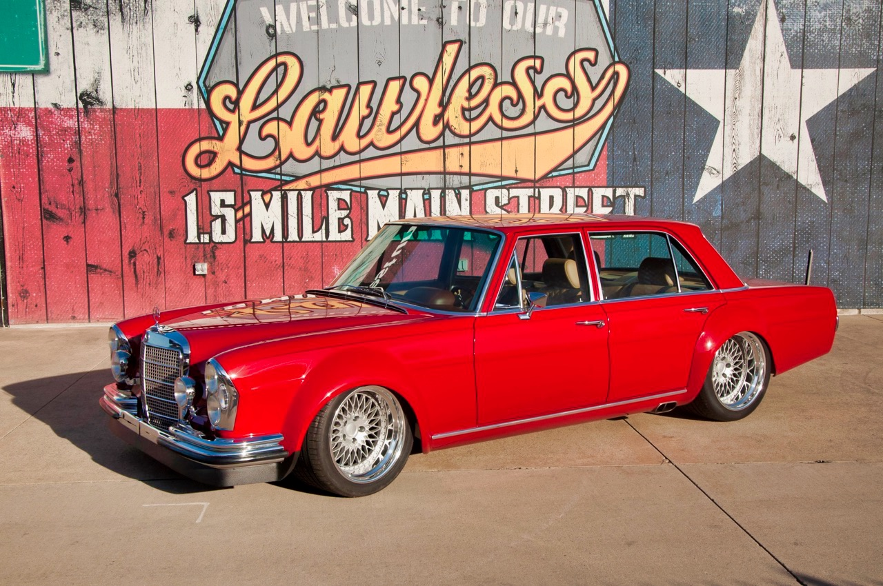 '69 Mercedes 280 SEL W108... Red Pig sauce BBQ ! 8