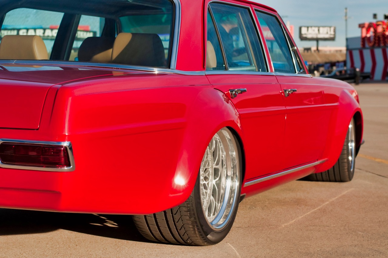 '69 Mercedes 280 SEL W108... Red Pig sauce BBQ ! 6