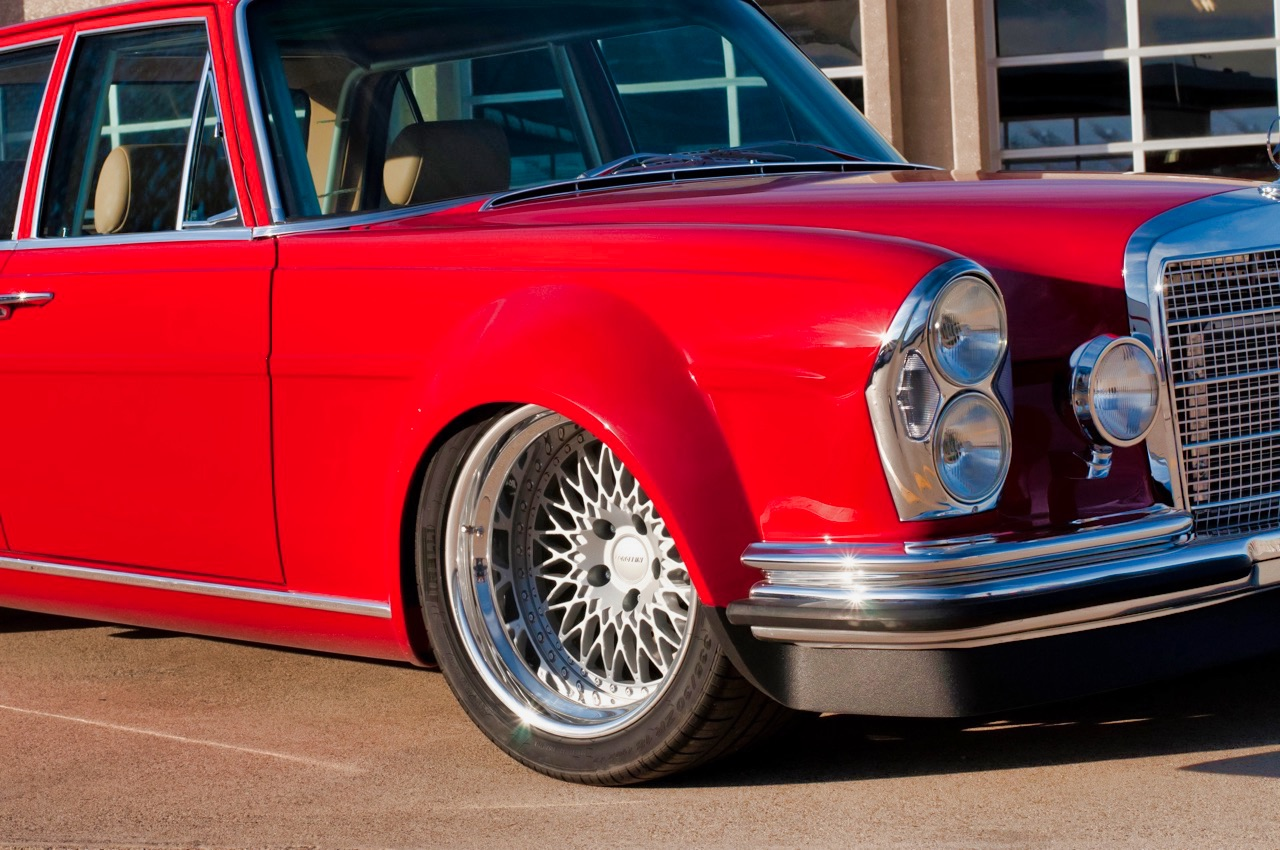 '69 Mercedes 280 SEL W108... Red Pig sauce BBQ ! 4