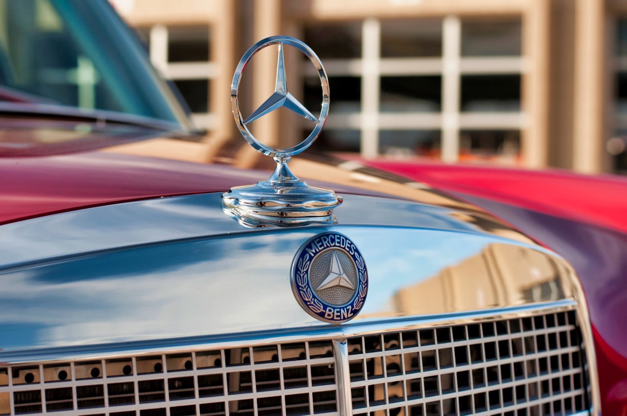 '69 Mercedes 280 SEL W108... Red Pig sauce BBQ ! 1