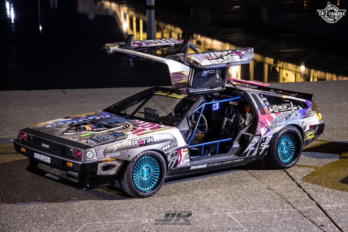 La Delorean DMC 12 V8 d'Alexandre Claudin - Appelez-la Outadrift ! 6