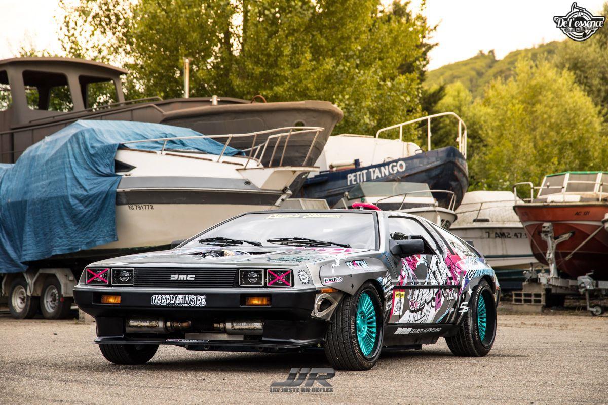 La Delorean DMC 12 V8 d'Alexandre Claudin - Appelez-la Outadrift ! 4