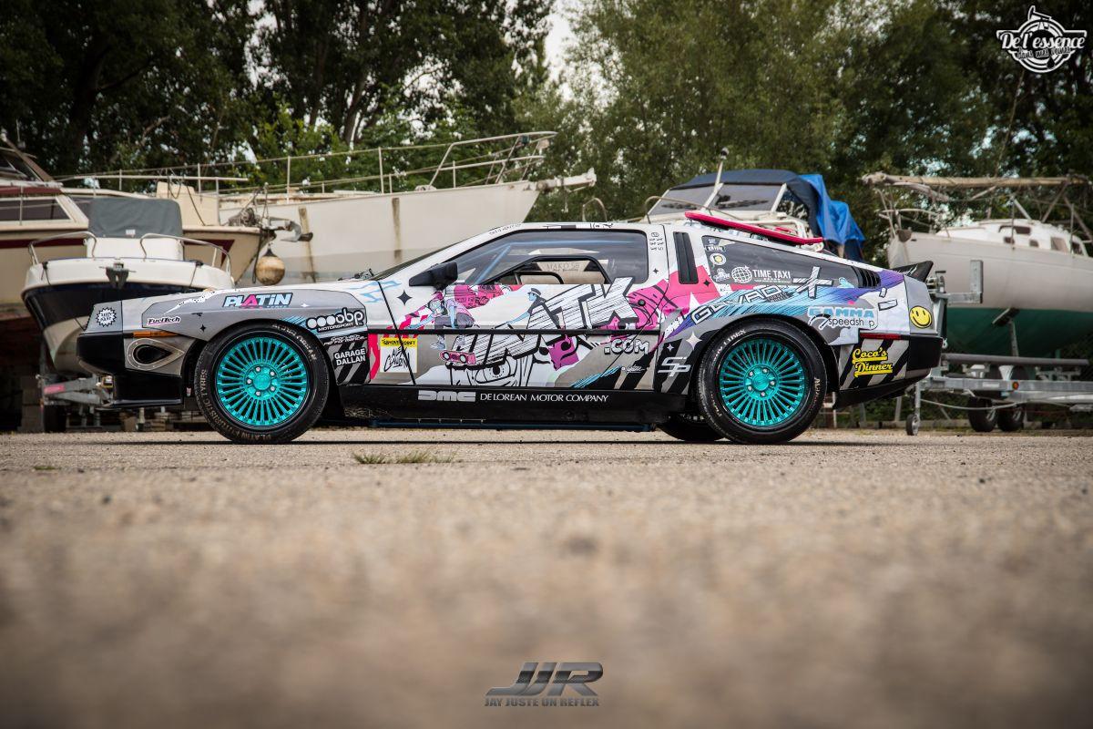La Delorean DMC 12 V8 d'Alexandre Claudin - Appelez-la Outadrift ! 8