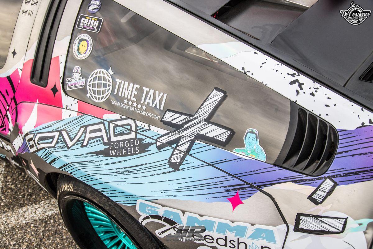 La Delorean DMC 12 V8 d'Alexandre Claudin - Appelez-la Outadrift ! 5