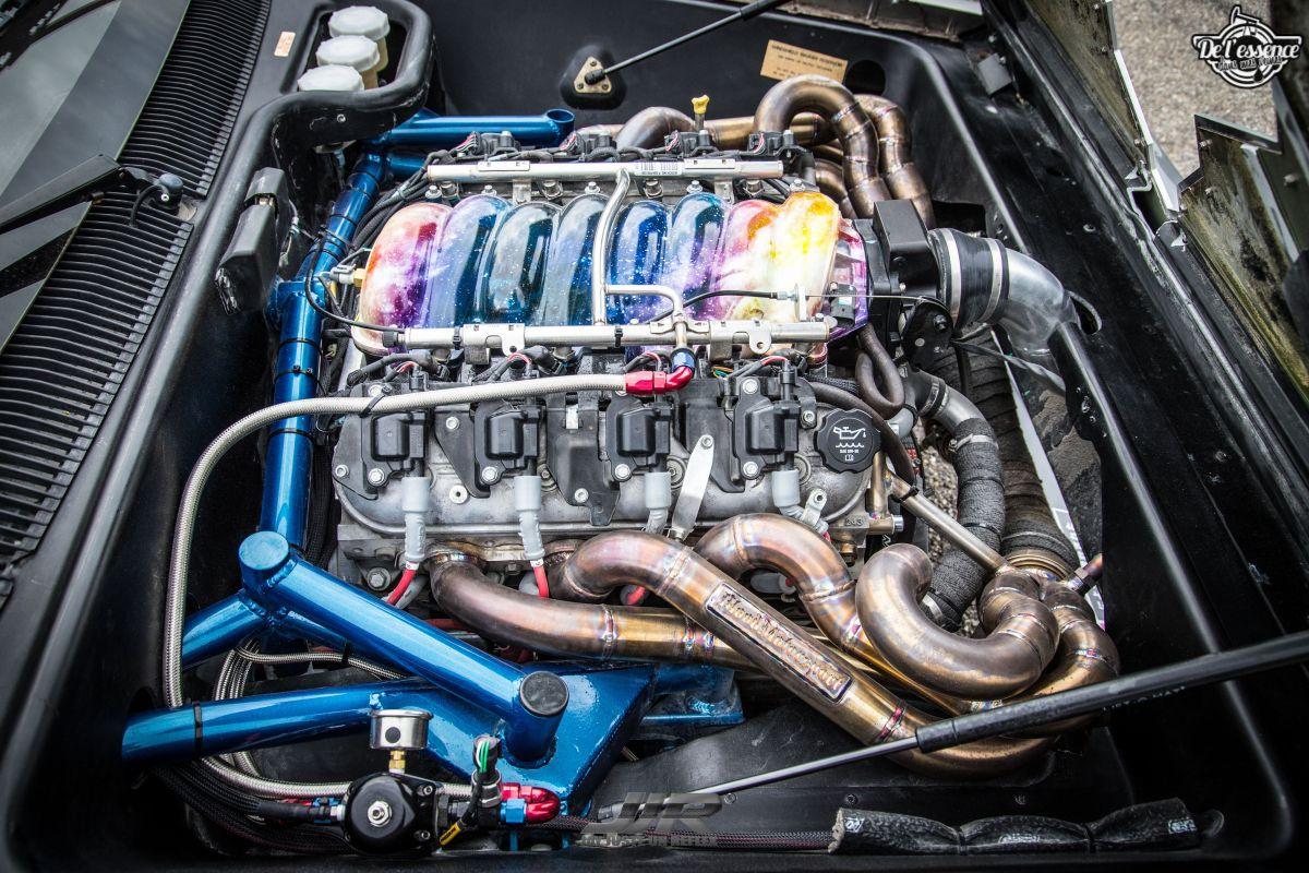 La Delorean DMC 12 V8 d'Alexandre Claudin - Appelez-la Outadrift ! 9