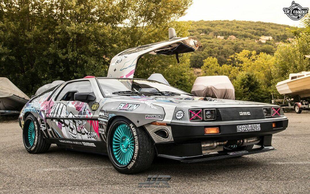 La Delorean DMC 12 V8 d'Alexandre Claudin – Appelez-la Outadrift !