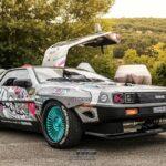 La Delorean DMC 12 V8 d'Alexandre Claudin - Appelez-la Outadrift !
