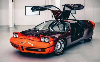 '72 BMW Turbo Concept… Médaille d'or !