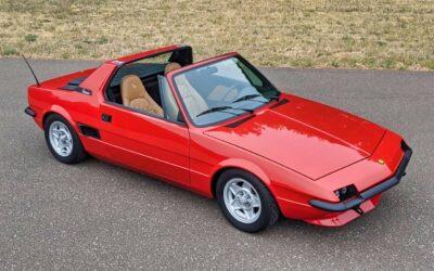 Fiat X1/9 Vtec – Restomod… al dente !