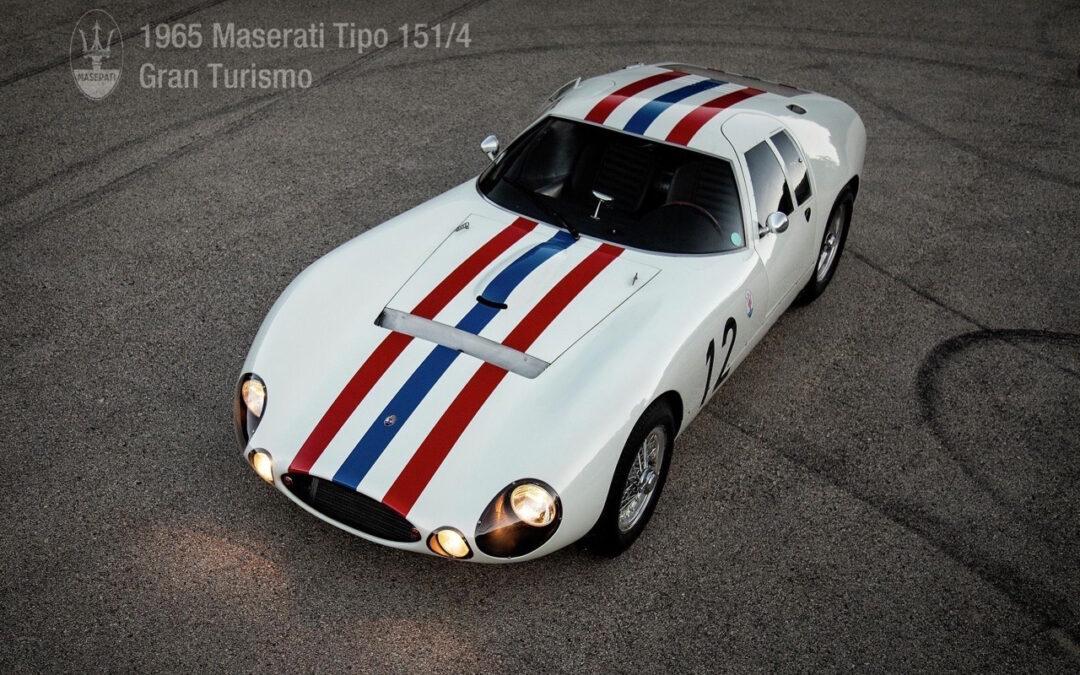Maserati Tipo 151 /4 – Simplement belle… le temps des essais !