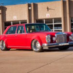 '69 Mercedes 280 SEL W108... Red Pig sauce BBQ !