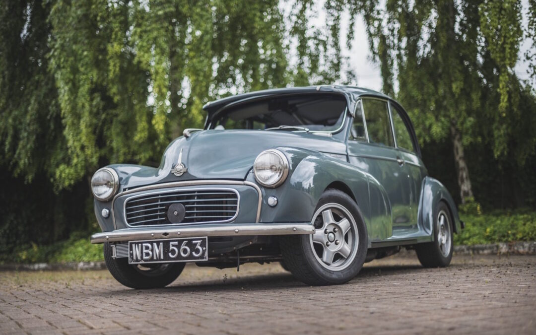'58 Morris Minor Supercharged… Mon hot rod s'appelle Maurice !