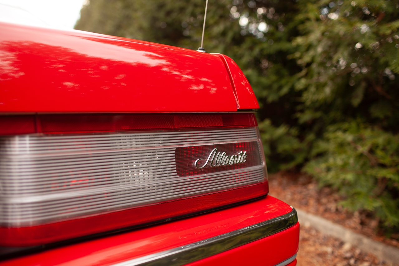 Cadillac Allanté - La ricaine la plus cool des 90's ?! 3