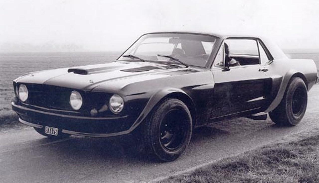 """Incontournable : La Ford Mustang de Belmondo dans """"Le marginal"""" 1"""