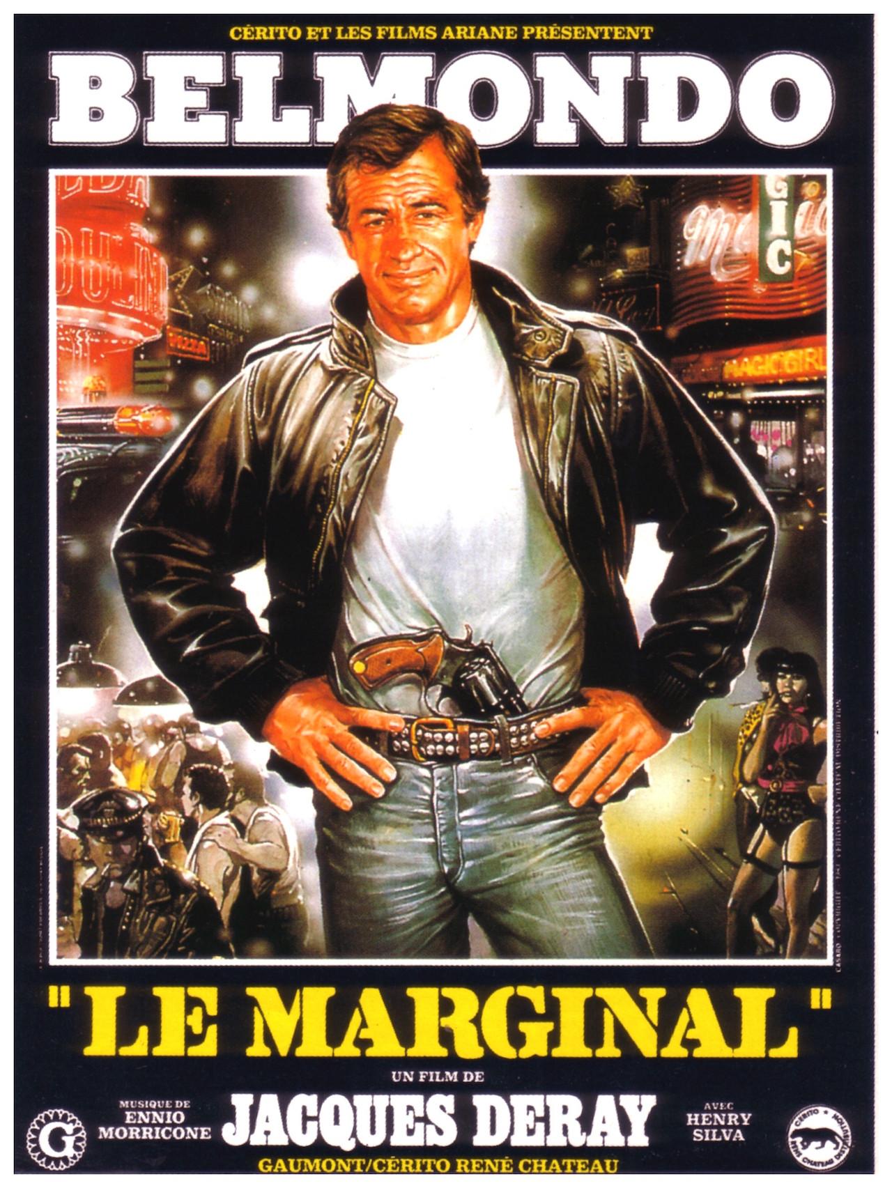 """Incontournable : La Ford Mustang de Belmondo dans """"Le marginal"""" 7"""
