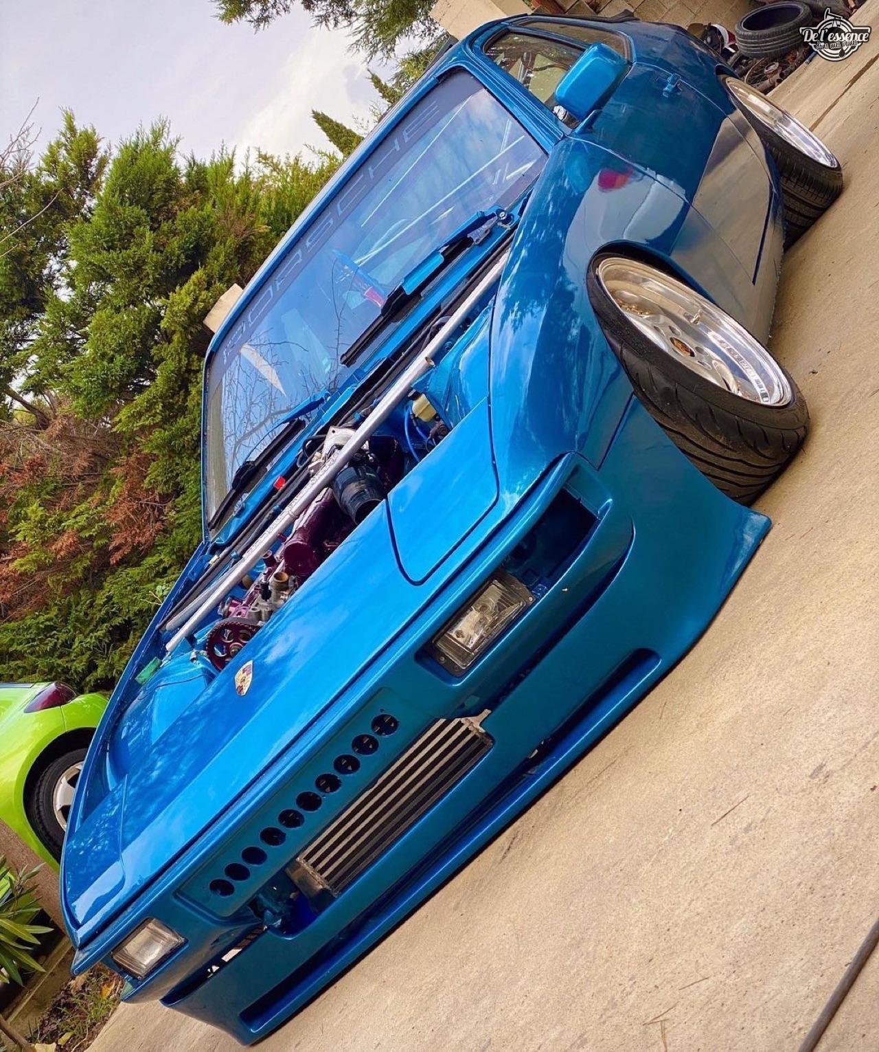 '79 Porsche 924 de Chris - De l'air et un turbo... 6