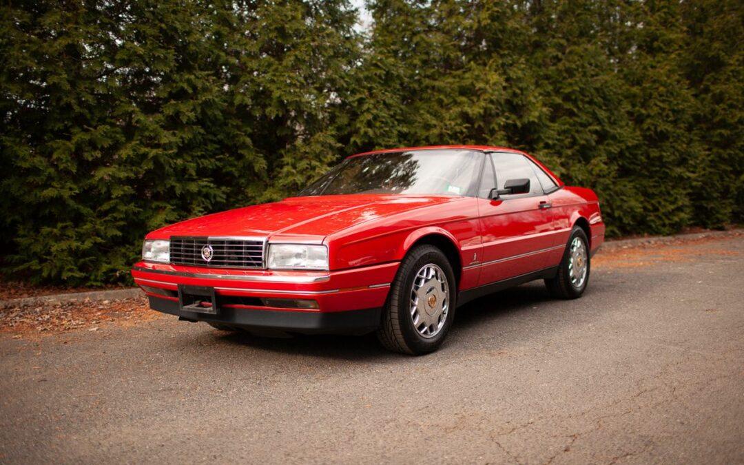 Cadillac Allanté – La ricaine la plus cool des 90's ?!