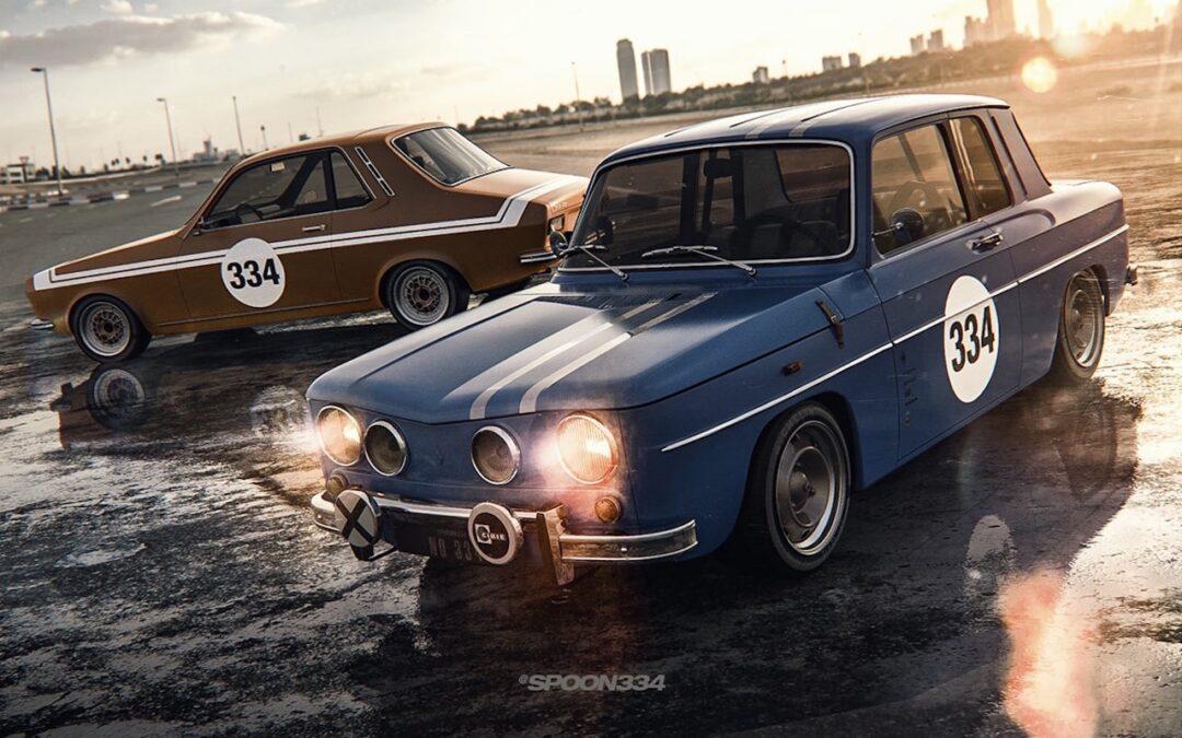 Dacia 1100 & 1300 signées Spoon334… Coupez !