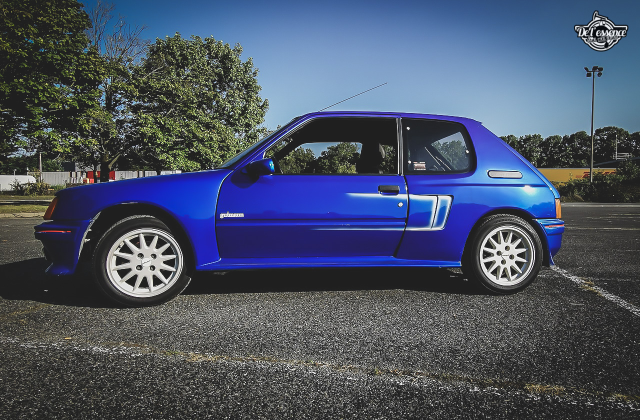 Peugeot 205 GTi Mi16 Gutmann - Quand le tuning devient collector ! 5