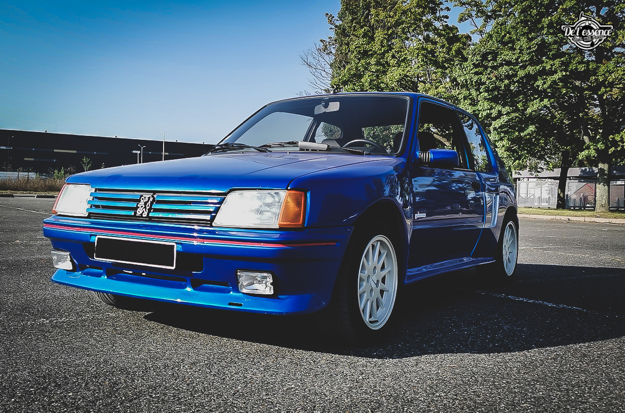 Peugeot 205 GTi Mi16 Gutmann - Quand le tuning devient collector ! 13