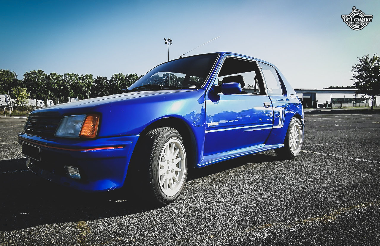 Peugeot 205 GTi Mi16 Gutmann - Quand le tuning devient collector ! 3