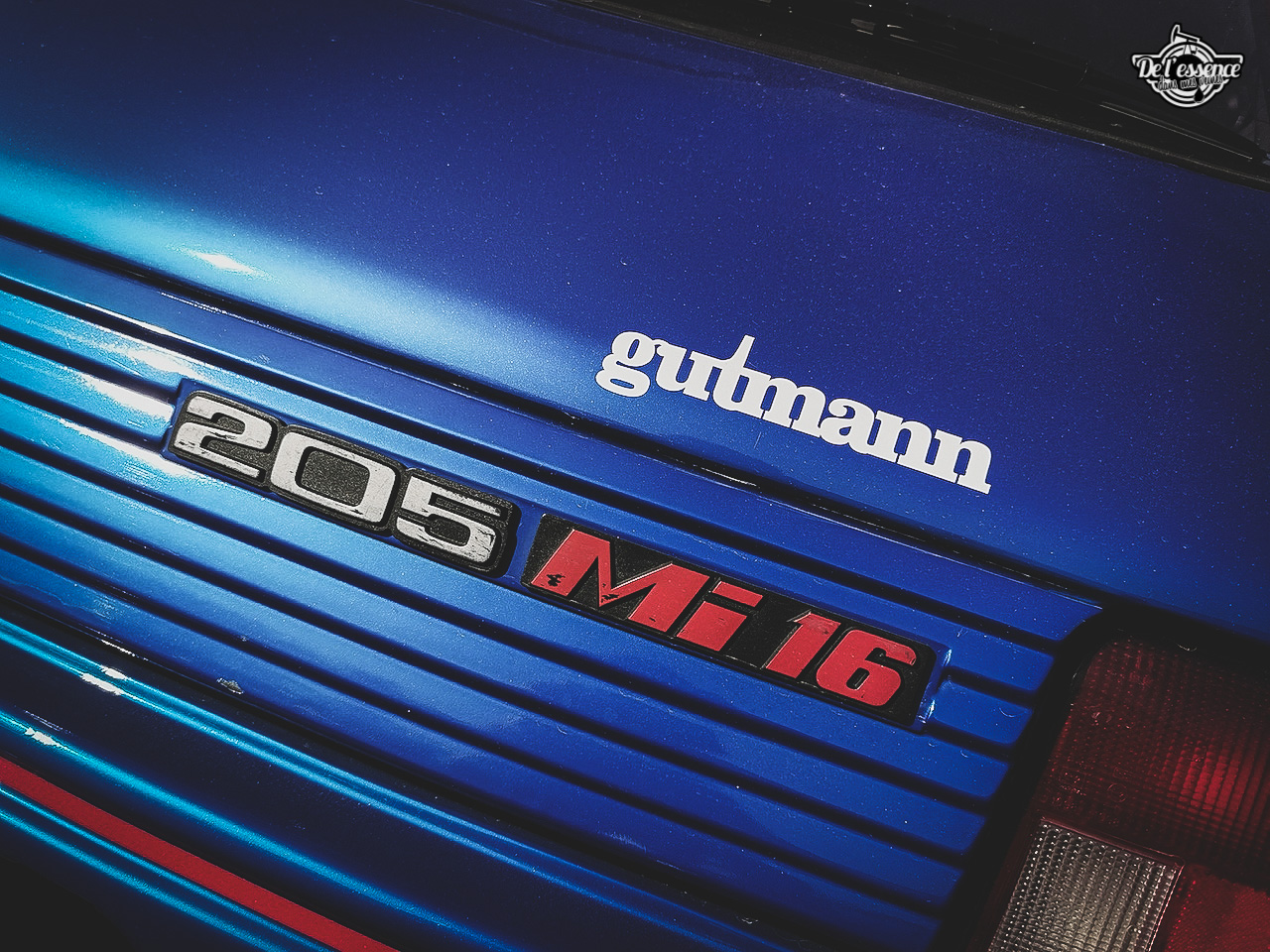 Peugeot 205 GTi Mi16 Gutmann - Quand le tuning devient collector ! 9