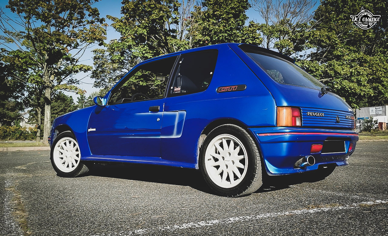 Peugeot 205 GTi Mi16 Gutmann - Quand le tuning devient collector ! 2