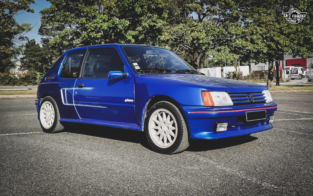 Peugeot 205 GTi Mi16 Gutmann – Quand le tuning devient collector !
