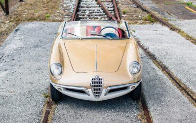 '55 Alfa Romeo Giulietta Spider Bertone – Celle qu'Alfa ne voudra pas… mais qui inspirera Pininfarina !